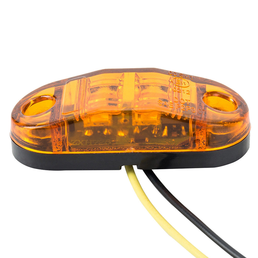 10x 12v 24v Side Marker Lights Indicator Lamps Truck Lorry Trailer Accessories Led And Super Bright Leds Much Brighter Than Regular 2 On The Market Dont Settle For Inferior Products Package Included Comes