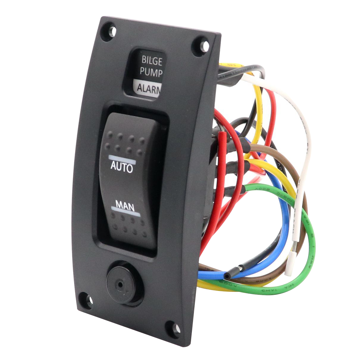 Details about 3 Way Bilge Pump Rocker Switch+Alarm Panel AUTO-OFF-MAN on 3 way electrical circuit, 3 way breakers, 3 way injector, 3 way connectors, 3 way outlets, 3 way circuit diagram, 3 way lighting,