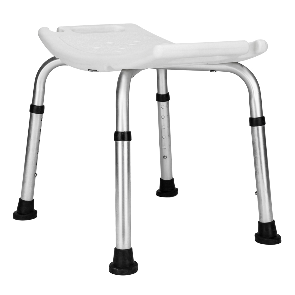 Adjustable 6 Height Medical Shower Chair Bath Tub Seat Bench Stool ...