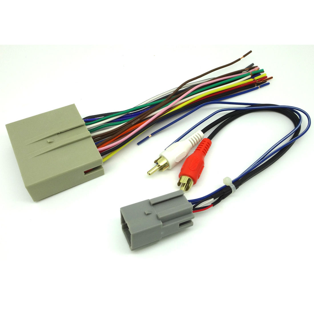 Details about FORD CAR STEREO CD PLAYER WIRING HARNESS WIRE AFTERMARKET on