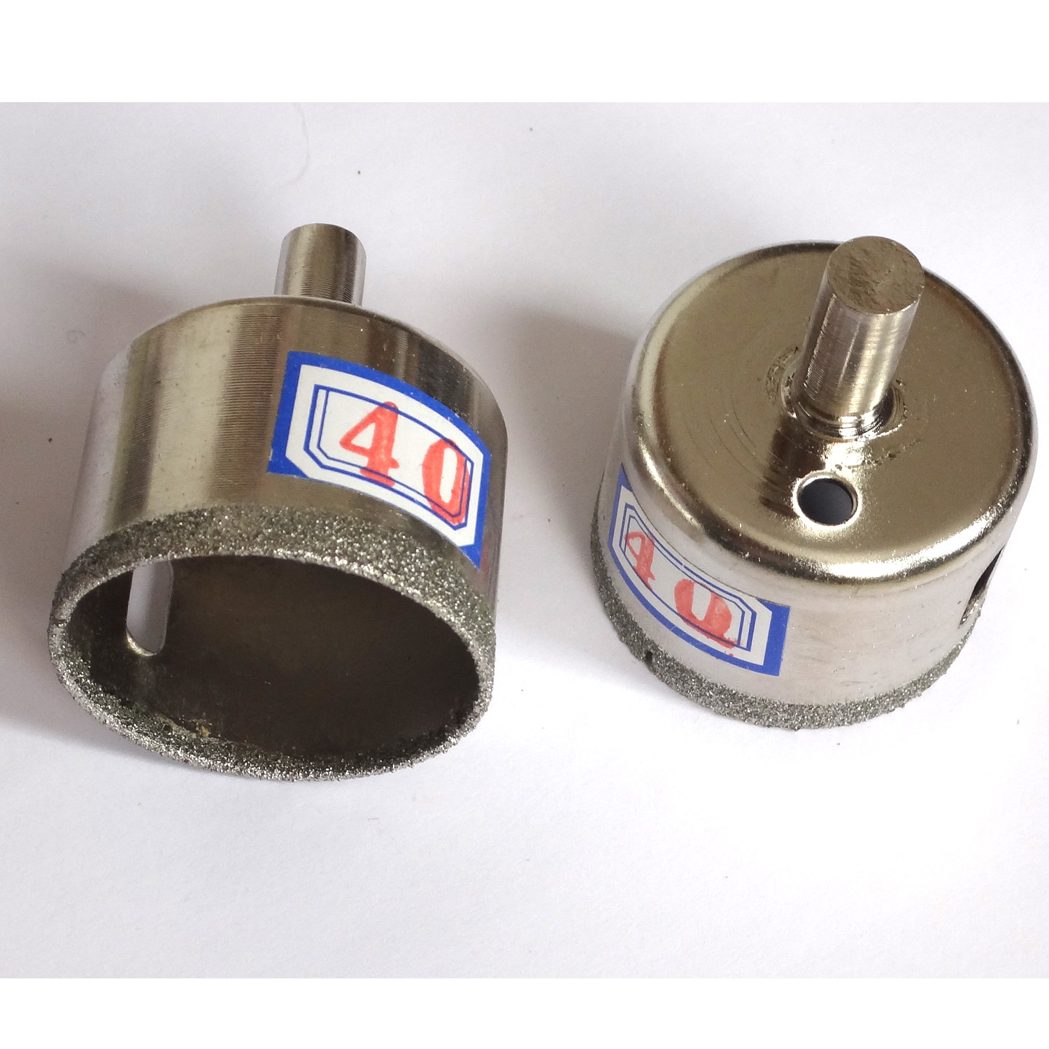 """2 pieces 30mm Diamond coated drill bit bits hole saw core TAO 1 3//16/"""" inch"""
