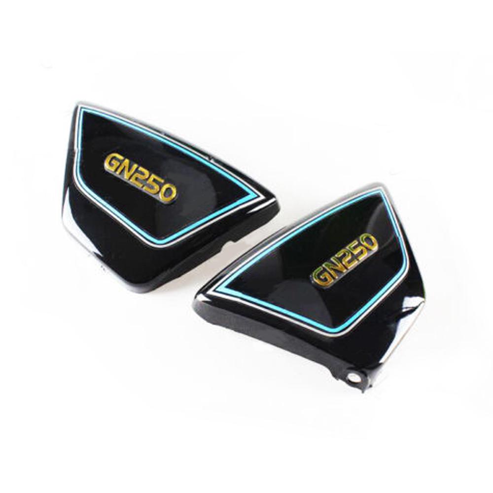 Pair Side Panels Suzuki GN250 Black
