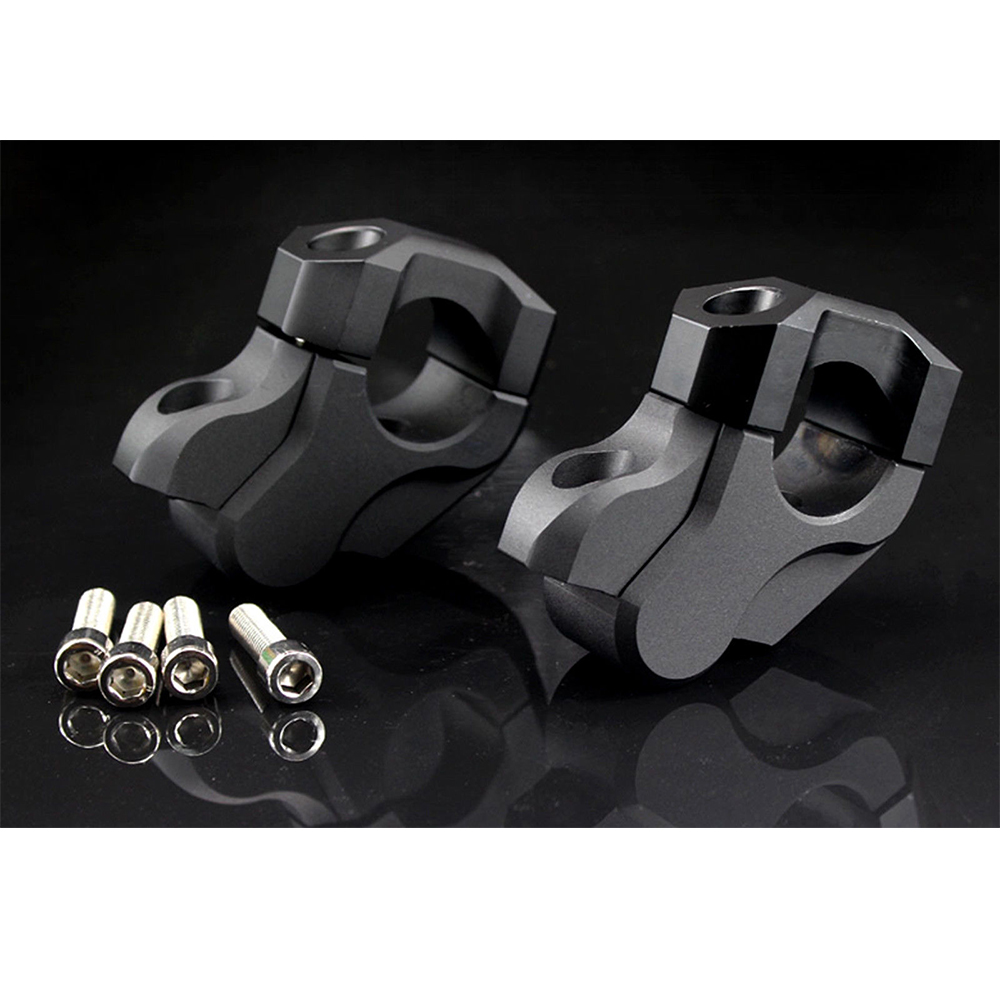 Black Black For BMW R1200GS LC 2013-2017 R 1200GS LC Adventure 2014 2015 2016 2017 Motorcycle CNC Handlebar Bar Risers Kit