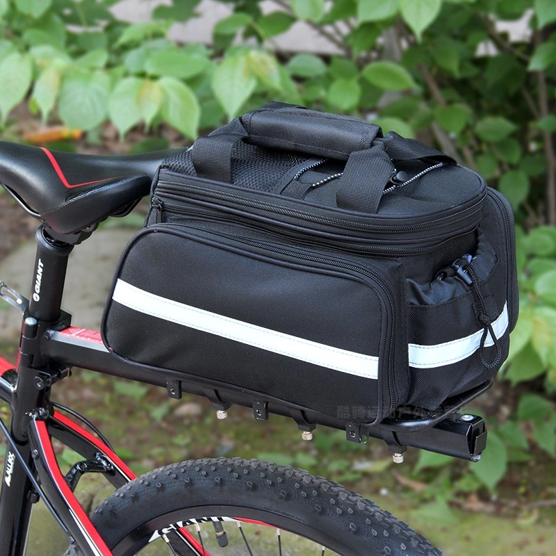 Multi Cycling Bags Bike Travel Bicycle Rear Seat Pannier Shoulder Bag Pouch