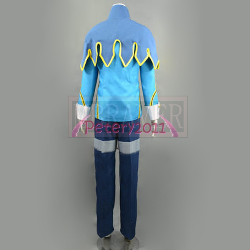 Fairy Tail Lyon Vastia Cosplay Costume Anime Custom Made Uniform