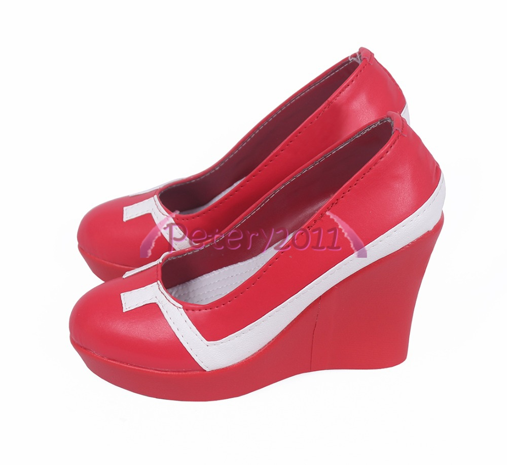 Darling In The Franxx 002 Red Cosplay Shoes Cos Shoes Custom Made