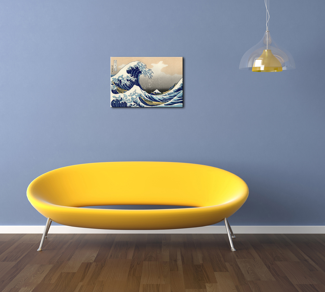 Canvas Print Painting Picture Anime Wall Art Home Decor Blue Sea ...