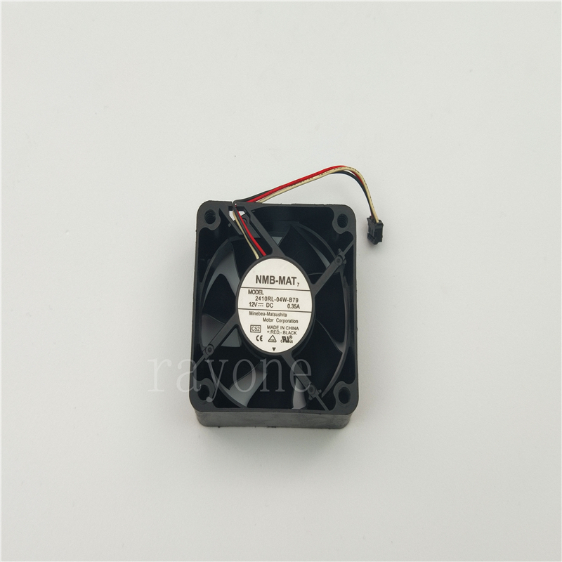 NMB 2410RL-04W-B79 fan 60*60*25mm 12V 0.35A 3pin #M2996 QL