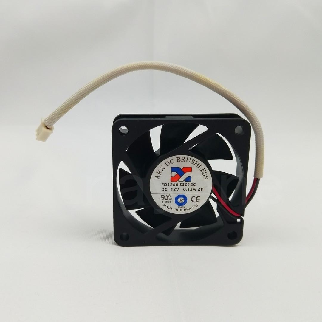 ARX DC BRUSHLESS 6015 Fan FD1260-S3012C DC12V 0.13A 2pin #M368 QL KC1