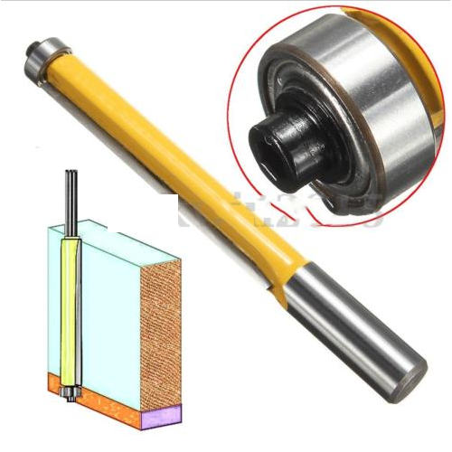 HM Hartmetall bestückte Kopierfräser für Oberfräser Holzfräser 12mm