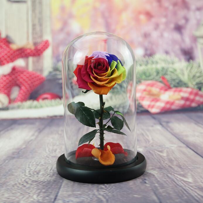 hohe qualit t liebe geschenk konservierte rose in. Black Bedroom Furniture Sets. Home Design Ideas