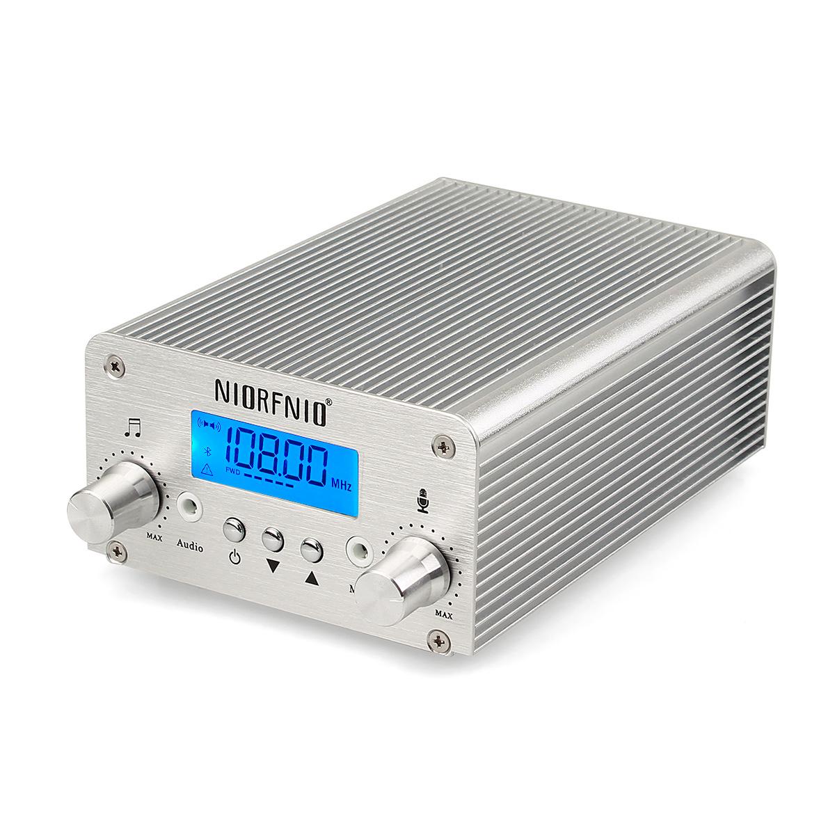 15w Pll Fm Transmitter Wireless Radio Stereo Station 87108mhz Circuit 88 108 Mhz 1w Mini Bluetooth Lossless Music Broadcast