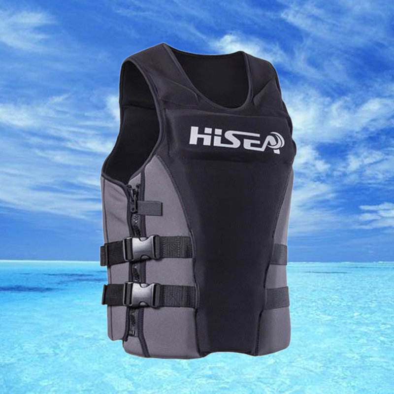 New Adult Swimming Life Jacket survival Vest Sailing Surfing Boating Wakeboard