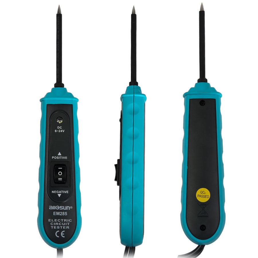 Digital Automotive Electrical Circuit Tester Pen Type Car Battery ...