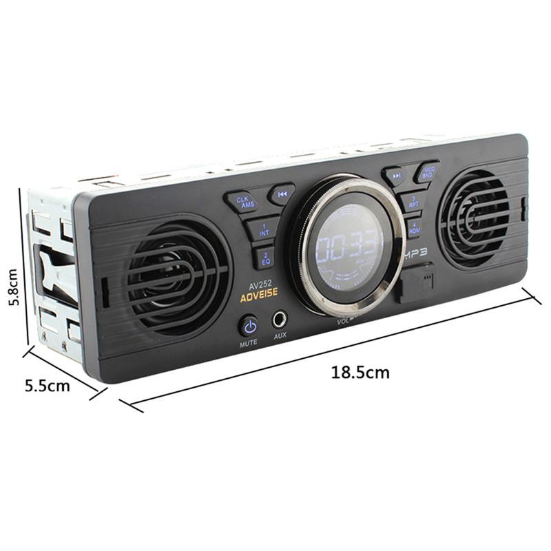 auto bluetooth mp3 player stereo audio aux medien lautsprecher fm radio tf karte ebay. Black Bedroom Furniture Sets. Home Design Ideas