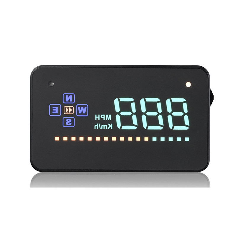 universal auto gps a2 head up display hd hud speedometer. Black Bedroom Furniture Sets. Home Design Ideas
