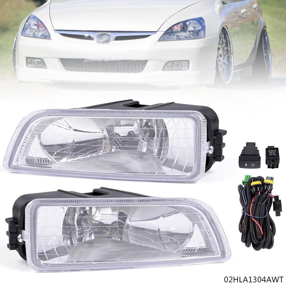 Driving, Fog & Spot Lights Driver & Passenger Side Bumper Fog ...