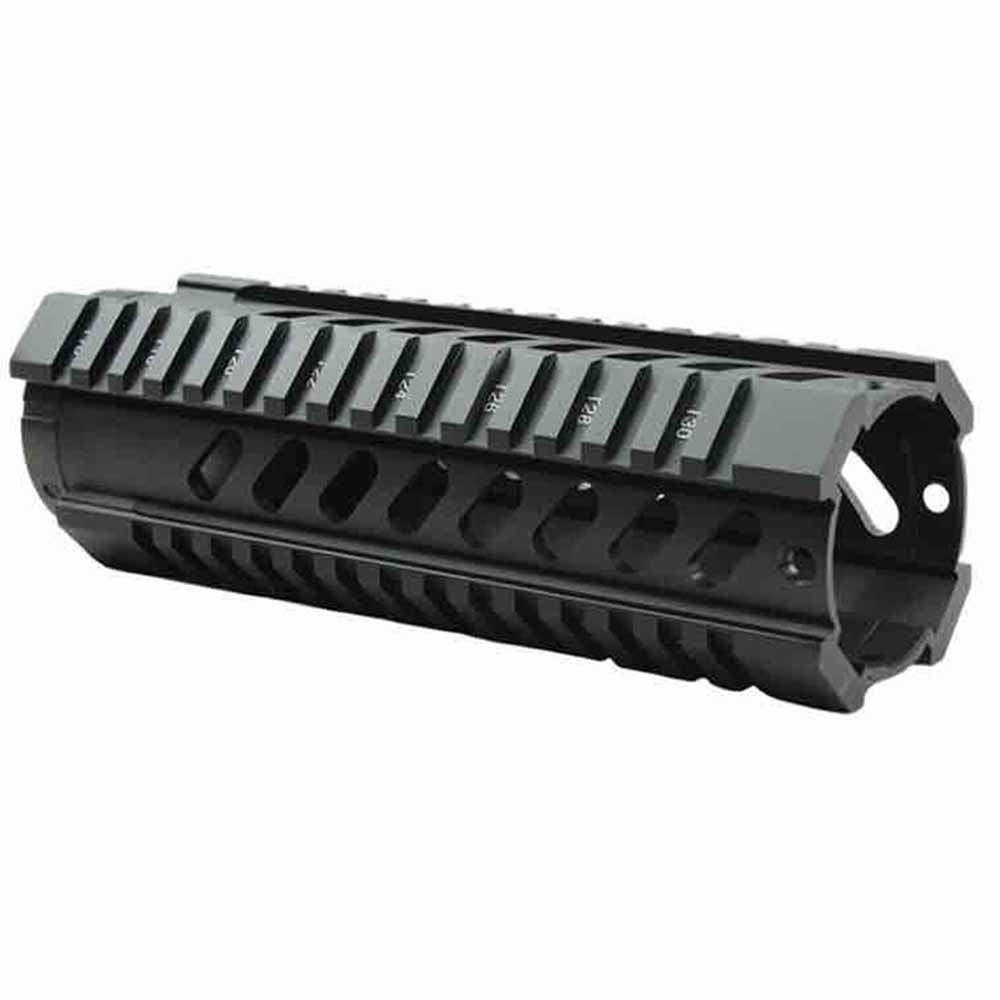 .223 5.56 7 Inch Free Float Handguard Picatinny Quad Rail For For RPR - Black
