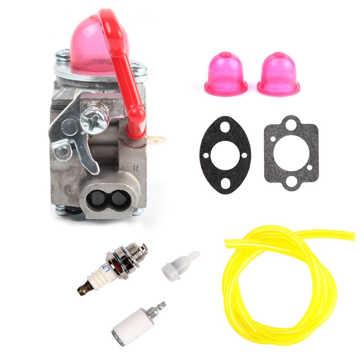 Carburetor Fuel Filter Fuel line For Poulan 545081855 BVM200C Craftsman  Blowers