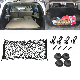 NEW Envelope Style Rear Trunk Cargo Net Black Nylon For Toyota RAV4 2013-2018
