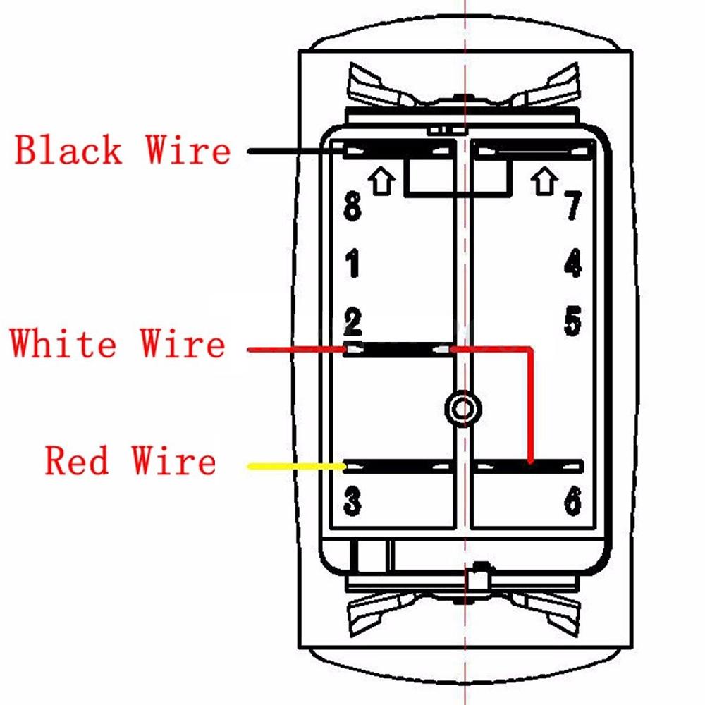 Car Waterproof Led Light Bar  Spot  Rear Light Rocker Switch Relay Fuse Wiring Kit