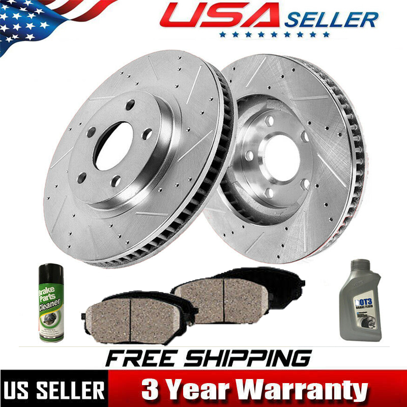2013 2014 2015 2016 Fit Ford F-250 Super Duty Front /& Rear Ceramic Brake Pads