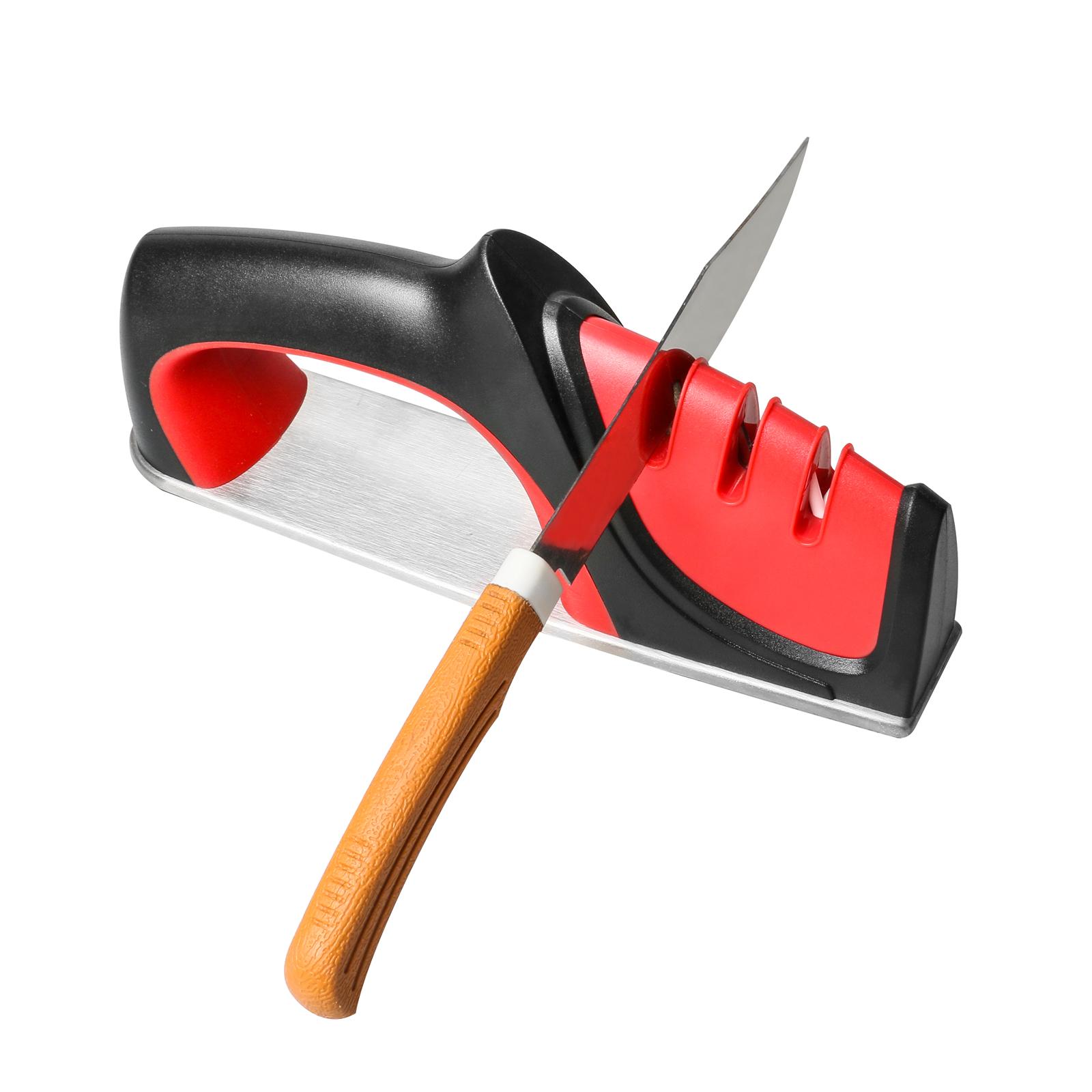 Zwei Stufen Diamant Keramik Küche Messerschärfer Wetzstein Werkzeuge BEST L4R8
