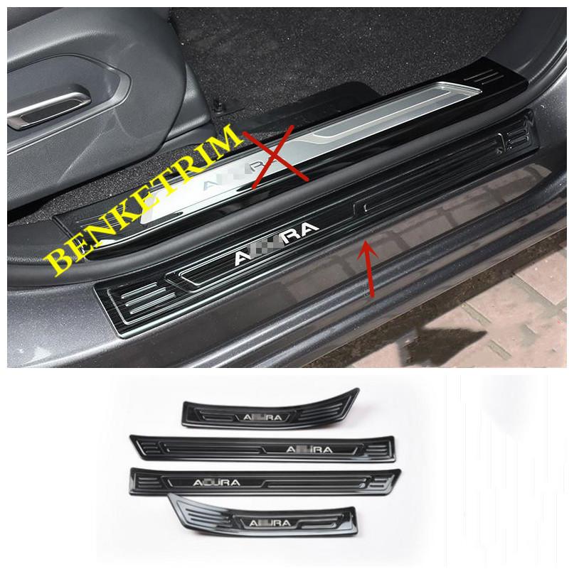 NEW For Acura 2019 RDX Black Titanium Stainless Door
