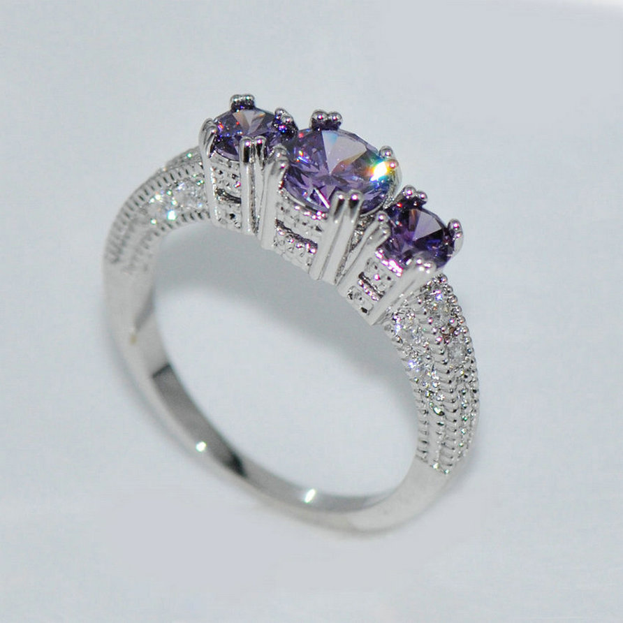 rings item wedding really from gold jewelry for diamant stone silver engagement in ring sterling cz rose women tower big
