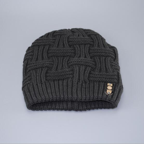 Men winter hat Warm Cap Beanie Knit Slouchy Plain Skull Cuff Hats Mens Newsboy