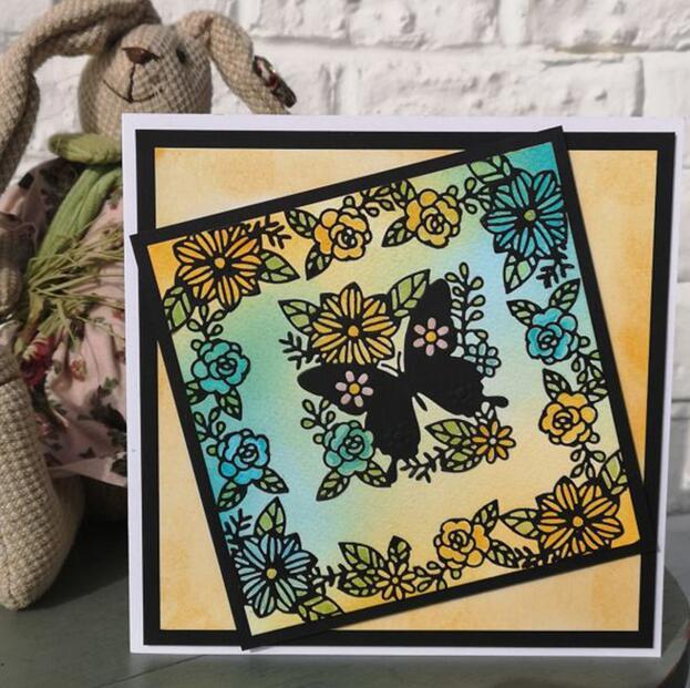 1 set butterfly Metal Cutting Dies Stencil Scrapbooking Paper Craft Embossing HI