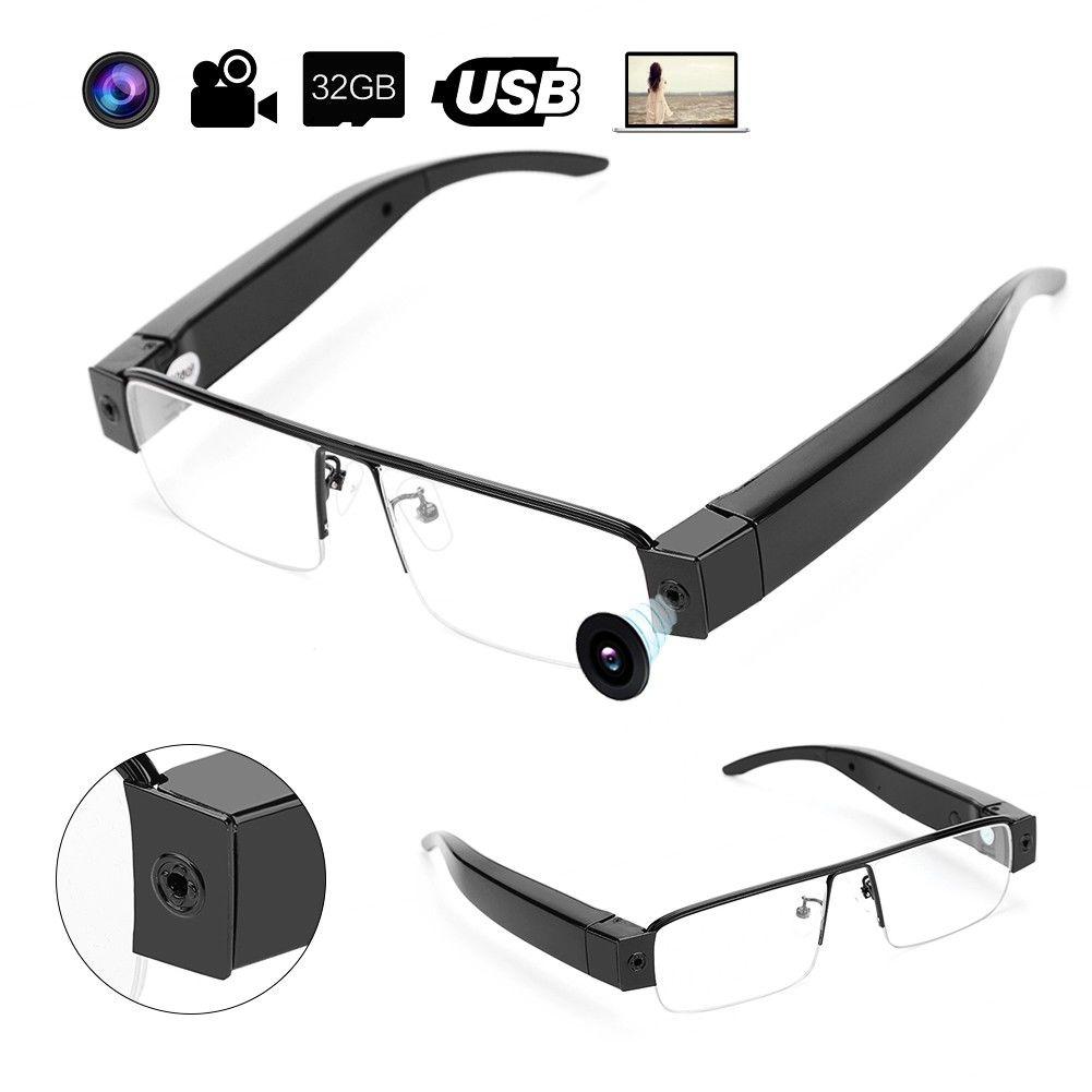 14b3ea6421 Details about 1080P HD Camcorder Glasses Eyewear Spy Hidden Camera DVR  Digital Video Record Tr