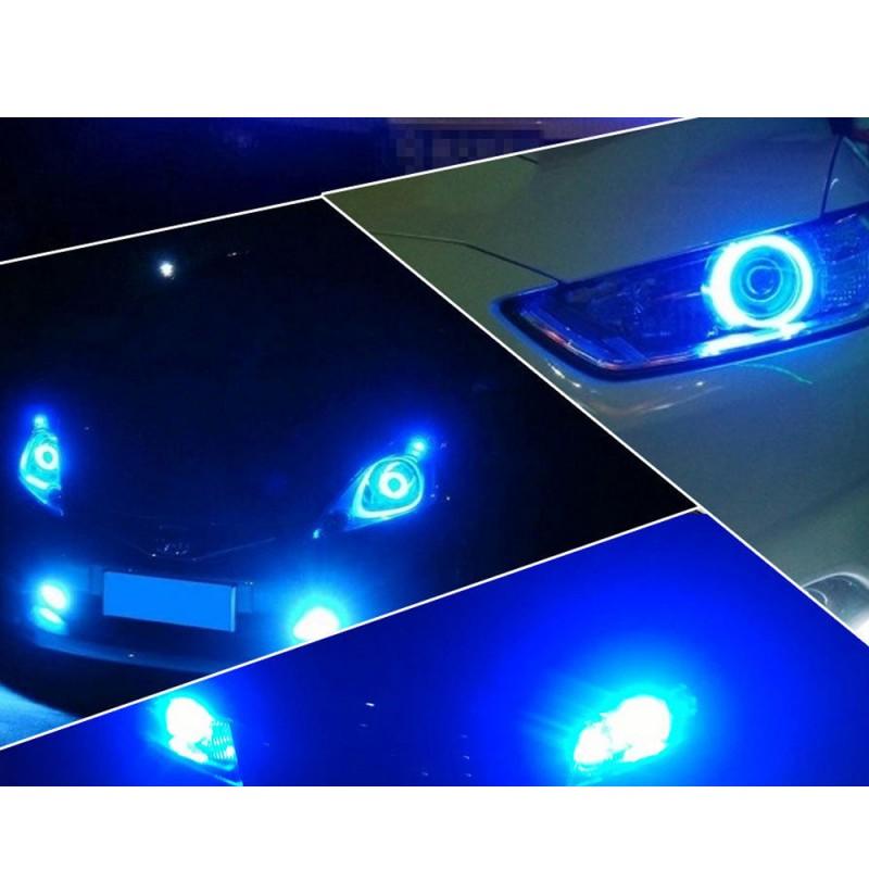 Lufteinlass blaue LED