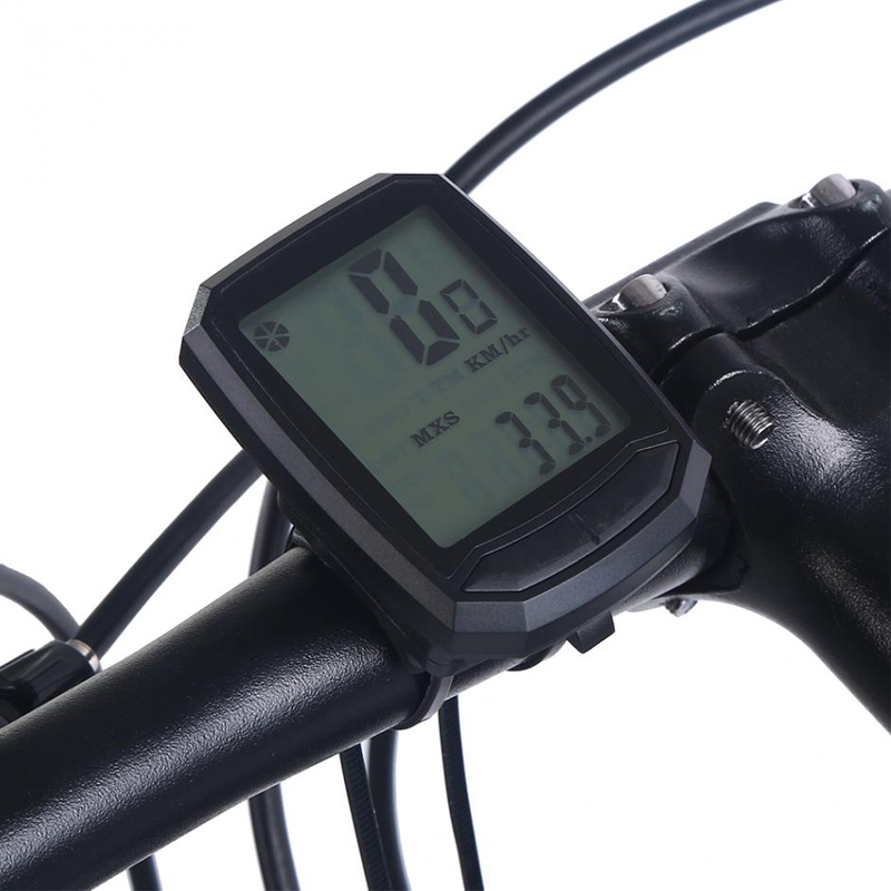 wired kabellos lcd fahrradcomputer fahrradtacho tachometer. Black Bedroom Furniture Sets. Home Design Ideas