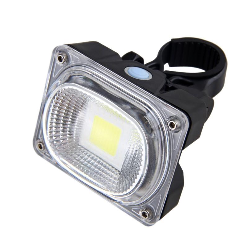 rechargeable led laser lumi re lampe v lo bicyclette vtt. Black Bedroom Furniture Sets. Home Design Ideas
