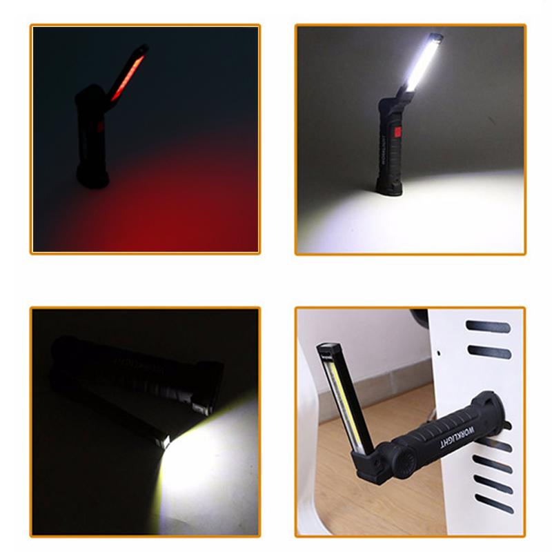 800Lumen COB 5modi LED Taschenlampe Stift Licht Arbeitslicht handlampe werkstatt