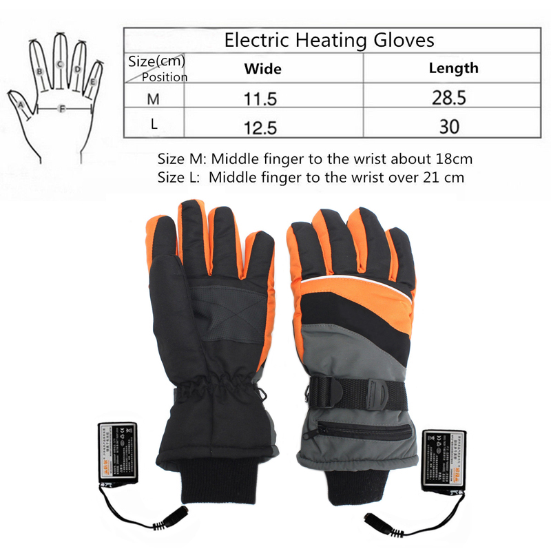 2X 3.7V Usb powered heated pads winter warm gloves electric hand warmer pads YJ