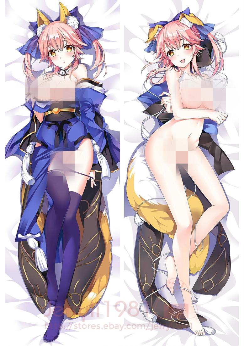 "150 Fate//EXTRA Tamamo no Mae Anime Dakimakura PillowCase Hugging Body case 59/"""