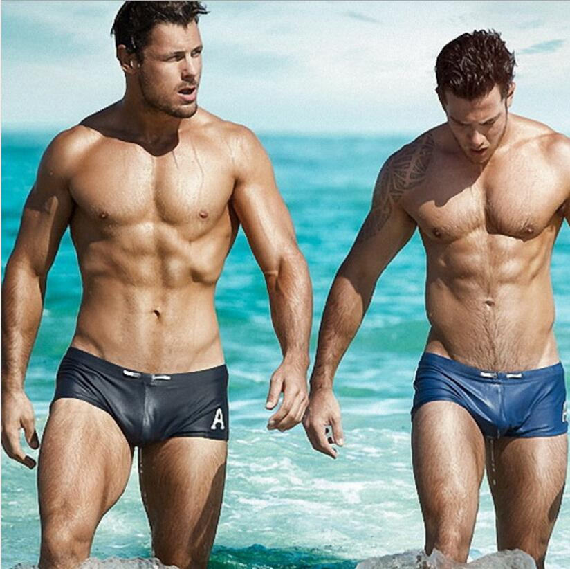 1f76de1b551 Details about 9 Colors Swimwear Tight Summer beach Swimsuit Sexy Swim  Shorts Boxer For Men