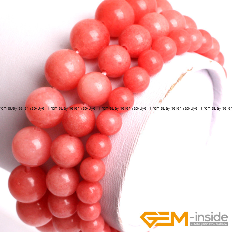 Wholesale-Lot-Handmade-Fashion-Jewelry-Assorted-Colors-Beaded-Jade-Bracelet-7-5-034 thumbnail 12
