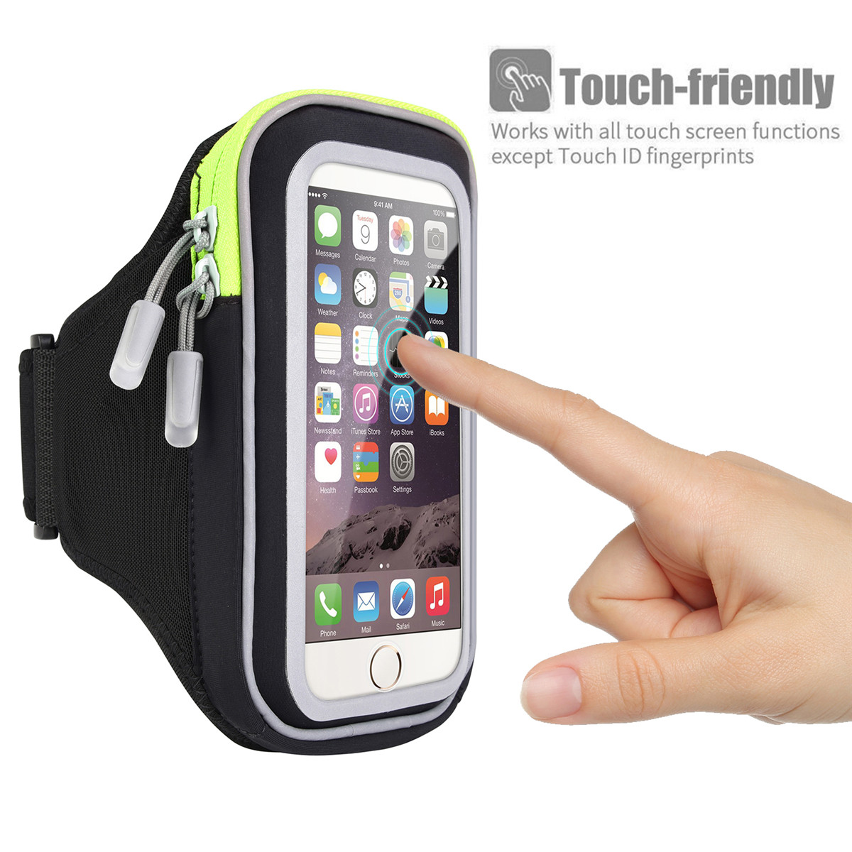 new style ec074 9582e For iPhone X 8 7 Plus 6 6S Armband Case Sport GYM Running Exercise ...