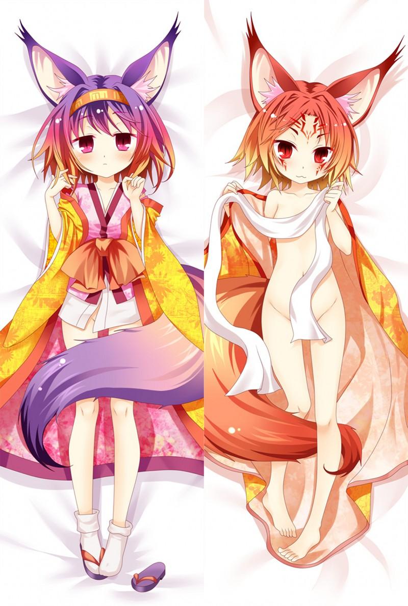 NO GAME NO LIFE Sora Anime Girl Dakimakura Hugging Body Pillow Case Cover