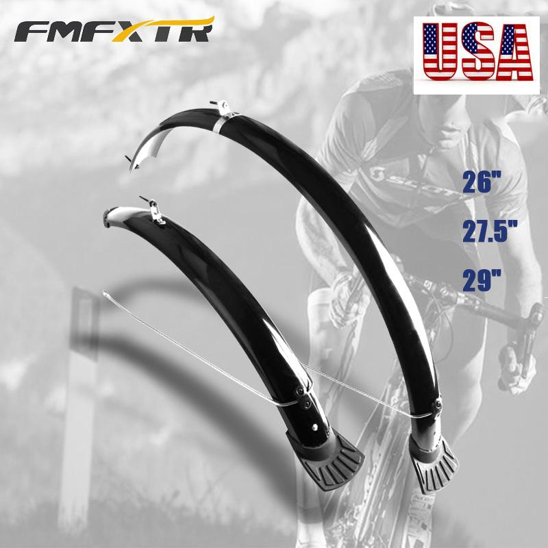 "26//27.5//29/"" MTB Bike Fender Full Length Mudguard Front/&Rear Protective Cover"