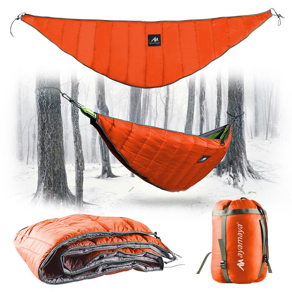 2 Person Ultralight Camping Hammock Under Quilt Full ...