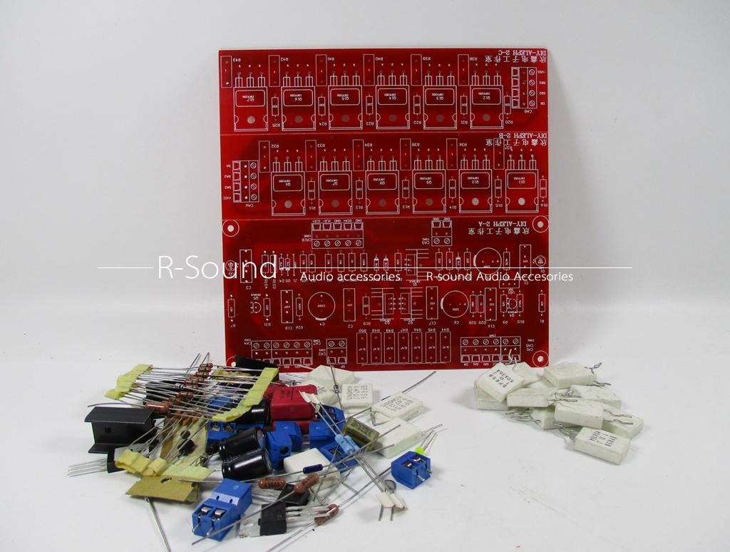 Nelson Pass ALEPH2 Pure Class A mono power amplifier board DIY Kit W