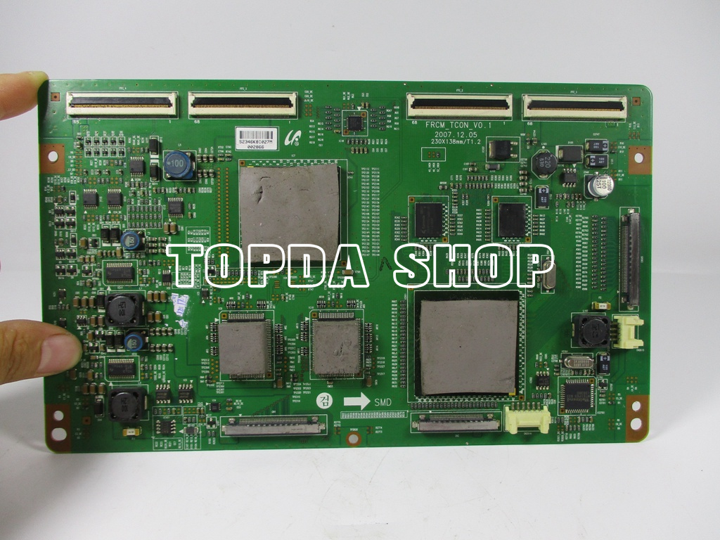 1pc Samsung La40a650a1r Logic Board Frcm Tc0n V01 Xx 847056365611 Posted By Electronic Circuit At 429 Pm