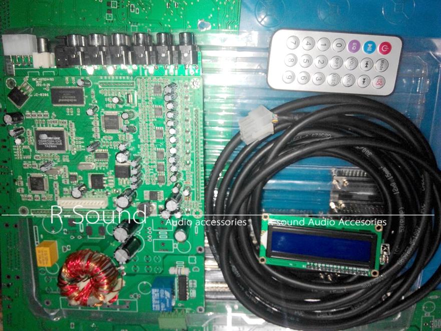 Car Audio CS495313 DTS Dual DAC 5.1 Channel Remote Decoder Board ...