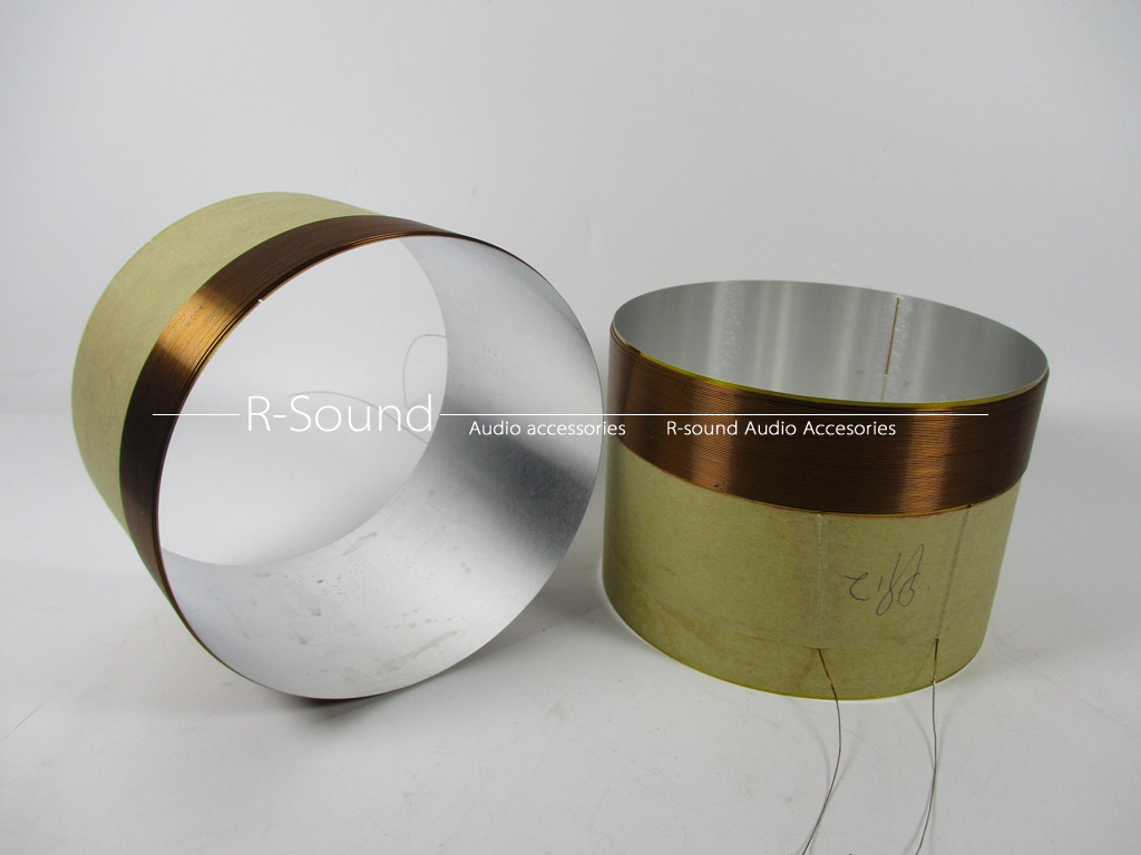 1pair 99.2mm asv Bass voice coil for 500w Full Series Speaker 500w 6.5ohm--8ohm