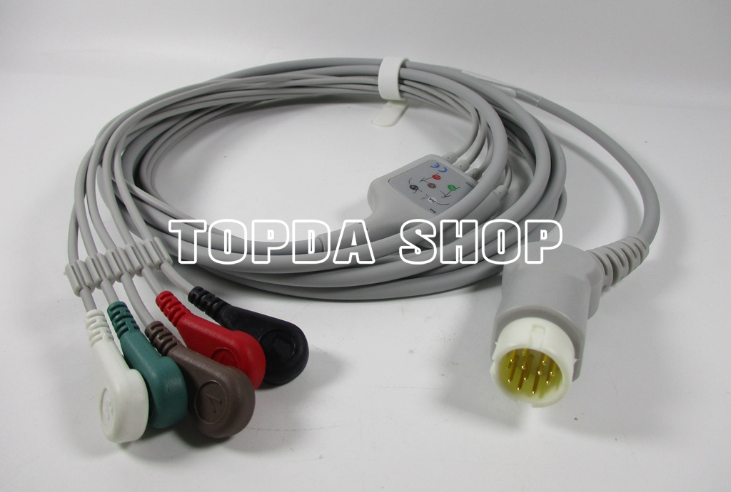 Philips ECG Cable 12pin For Philips MP20 MP30 MP60 MP70