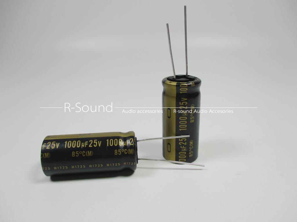 3pcs Japan Nichicon 1000uF 25V KZ MUSE series Fever audio electrolytic capacitor